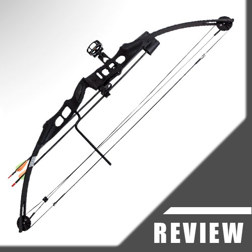 Arm Guard and Finger Tab Quiver Arrows SAS Sergeant 55 Lb 29 Compound Bow Package with 3-Pin Sight Silver//Black Twister Arrow Rest