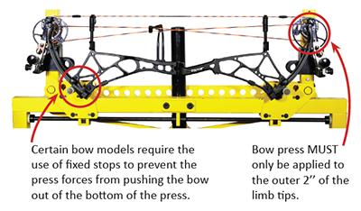 bear-archery cruzer bow press