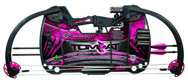 barnett tomcat bow pink