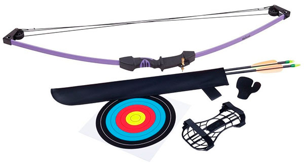 crosman upland compound bow purple