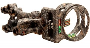 TruGlo Carbon hybrid 5 Pin Bow Sight Lost Camo