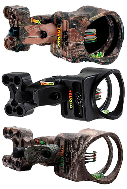 TruGlo carbon XS 4 Pin Bow Sight Finishes