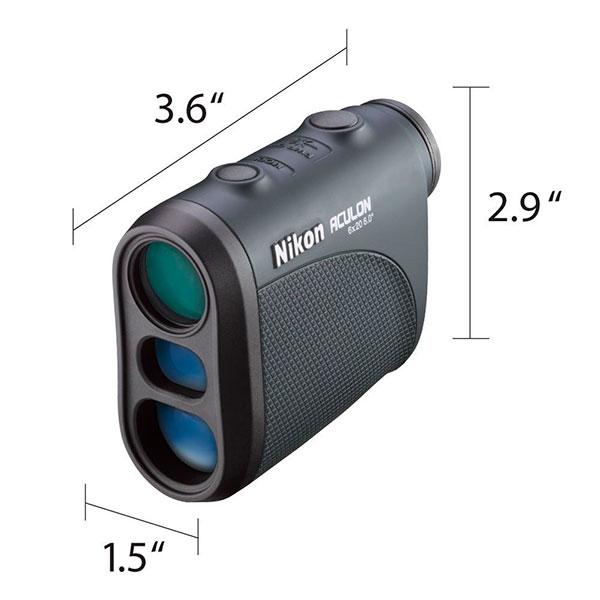 Nikon Aculon AL 11 Laser Rangefinder Dimensions