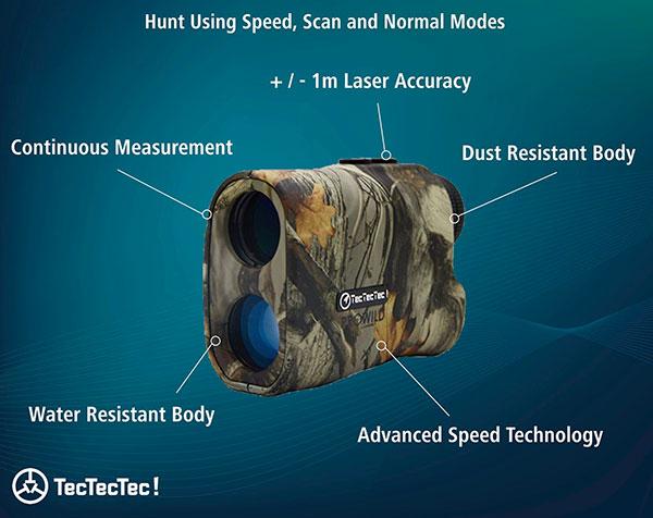TecTecTec ProWild Hunting Rangefinder Features 2