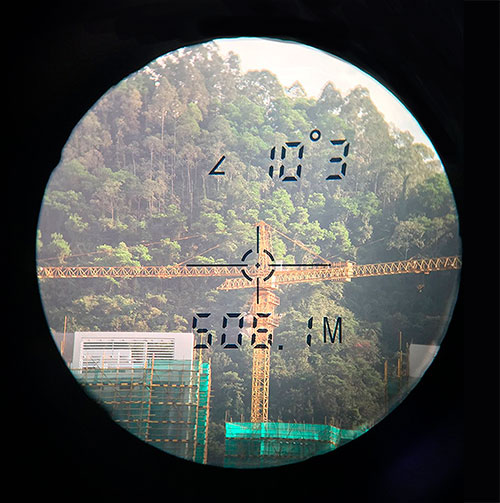 Uineye Laser Rangefinder View
