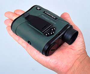 Vortex Optics Ranger 1000 Rangefinder Size
