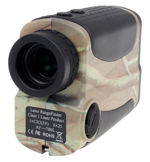 Wosports Laser Rangefinder For Hunting And Golf Rear