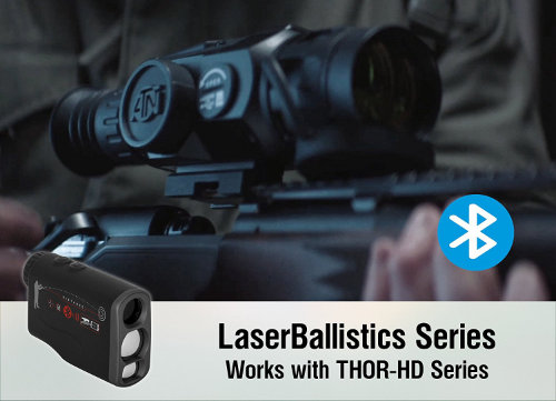 ATN Ballistics 1000 Smart Laser Rangefinder Scope