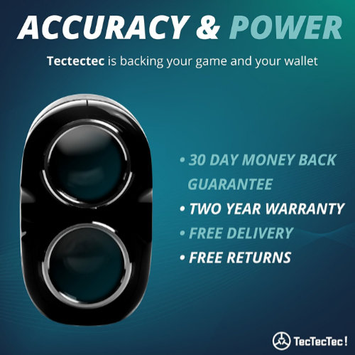 TecTecTec VPRO500 Golf Laser Rangefinder Information