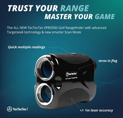 TecTecTec VPRO500 Golf Laser Rangefinder Infos