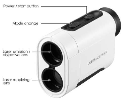 Tonor Golf Laser Rangefinder Infos